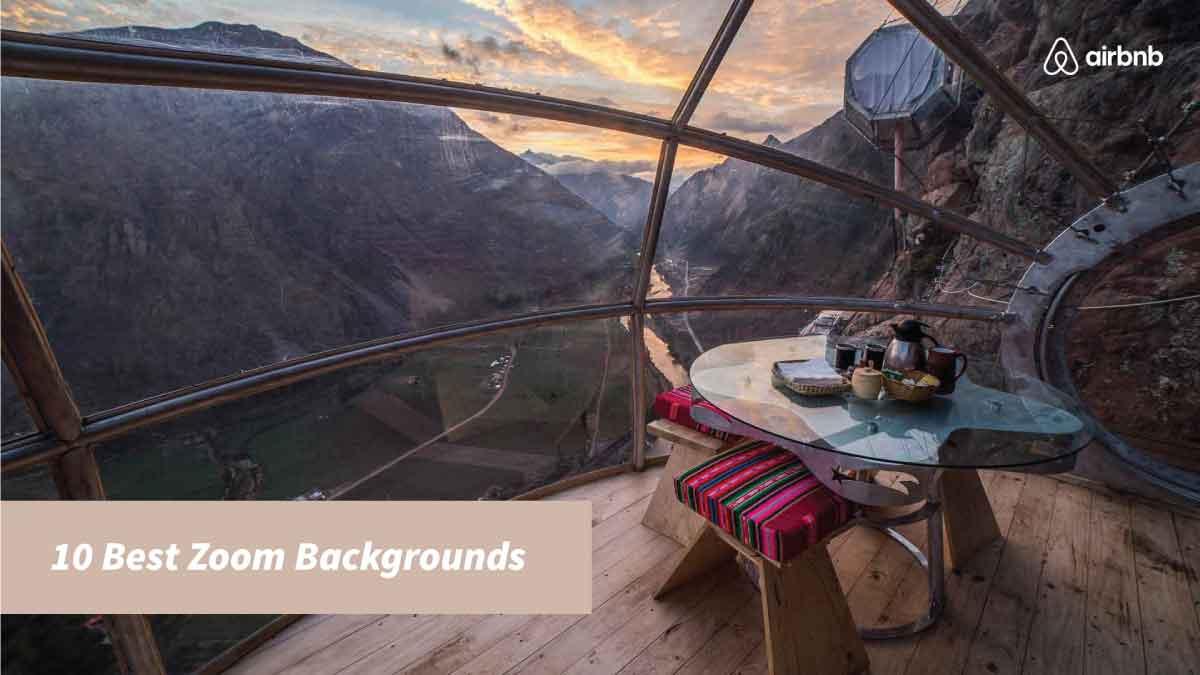 Top 10 Zoom Backgrounds Sl Creative